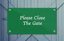 Close The Gate