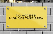 No Access Area
